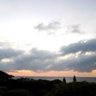 Sunrise on retreat
